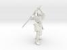 Robot Skeleton Samurai 03 3d printed