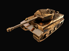 Tank - Tiger - size Small  3d printed