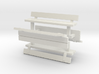 1:76th park benches 3d printed