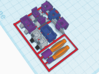 Armor for Galvatron,Scourge,Cyclonus Kreons (1/2) 3d printed Design in color