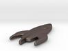Rocketship Keychain 3d printed