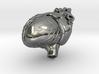 Annatomical Heart Pendant 3d printed