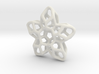 Flower Pendant Type A 3d printed