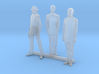 S Scale Standing Men 3 3d printed This is a render not a picture