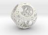 Apollonian Octahedron Mini 3d printed White Strong & Flexible