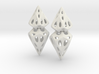Cell Ring Pair 3d printed