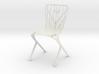 Washington Skeleton Aluminum Side Chair 3d printed