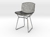 "Knoll Bertoia Side Chair 3.9"" tall 3d printed"