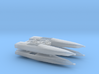 cigarette boats - waterline 1:350th/1:285th 3d printed