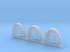 Sword on Shield Gravus Shoulder Pads x3 L 3d printed
