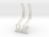 Davit set with support 3d printed This is a render not a picture