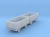 o-re-148fs-eskdale-3-plank-wagons 3d printed