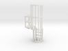 Ladder Cage Platform Left 3d printed