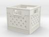 1:24 Square Plastic Crate 3d printed