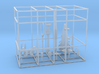 1/72 DKM U-Boot VIIC Conning Tower Detail KIT 3d printed