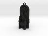 """2"""" replica w/ keychain hoop 3d printed"""