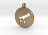 Alaph Symbol Pendent 3d printed