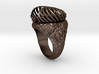 """""""My Beloved"""" Ribcaged Heart Ring 3d printed"""