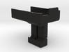 Mobius Camera Picatinny Mount Forward Facing 3d printed