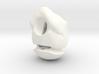 """""""Skull Nuni"""" BJD head in 1/4th size (MSD) 3d printed"""