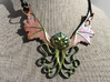 Winged Cthulhu Necklace 3d printed Does not come painted. See video below for more info.