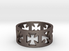 Outlaw Biker Cross Ring Size 11 3d printed