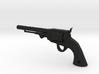 Ned Kelly Gang Outlaw Colt 1851 Revolver Keyring 3d printed