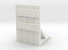 Wooden Barricade 1/48 3d printed