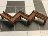 Crooked Bridge Zscale 3d printed Crooked bridge Z scale