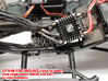CFX-W ESC MOUNT for Hobbywing Xerun AXE  3d printed As Shown, There isn't a place to Mount It Down.