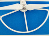 DJI Phantom Clip on propeller protector adapter x4 3d printed Top attached