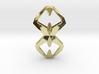 Sharp Union, Pendant. Sharp Chic  3d printed