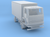 Ford Cargo box truck 1981 - 1:160 N 3d printed