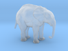 N Scale Elephant 3d printed This is a render not a picture