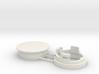 Einbauhalterung Magnetbandweiche Car System, 2-tei 3d printed