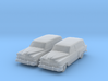 1954 Chevy Sedan Delivery 210 (2) N Scale Vehicles 3d printed