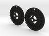 KCLD003 Delta Turbofan wheel disc 3d printed