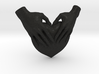 EmeDeÚ Necklace 3d printed Black Deail