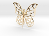 Visland Butterfly Pin 3d printed