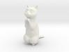 1/6 Praying / Begging Cat 3d printed
