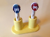 Oral-B electric toothbrush head holder 3d printed Ceramic Yellow (not available anymore)