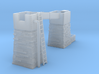 Slate Incline Gutter Towers OO9 3d printed