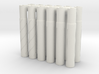 Expandable Barrel Lap (12 Pack) 3d printed