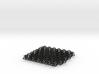 2D Chain Mail, 1cm deep 3d printed