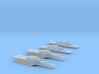 1:6000 Littoral Combat Ships Freedom+Independence 3d printed