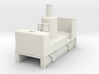 OO9 cheap and easy vertical boiler loco 3d printed
