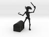 Pirate Robot 3d printed