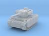 Panzer III M (schurzen) 1/220 3d printed