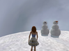 Coal The Snow Man 3d printed open sim  picture of coal and a friend