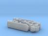 Autocar U-7144-T w. 4000 gal Tanktrailer 1/200 3d printed